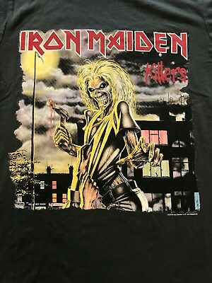 Licensed & AUTHENTIC IRON MAIDEN T-Shirts NEW Sizes S, M, L, XL