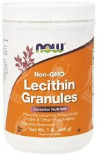 Now Foods, Soy Lecithin Granules, Non-GMO, 454g - Rich In Phosphatidylcholine