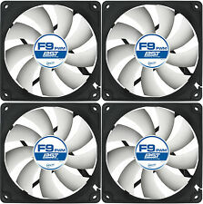 4x Arctic Cooling F9 PWM PST 92mm Alloggiamento Ventola 1800 RPM