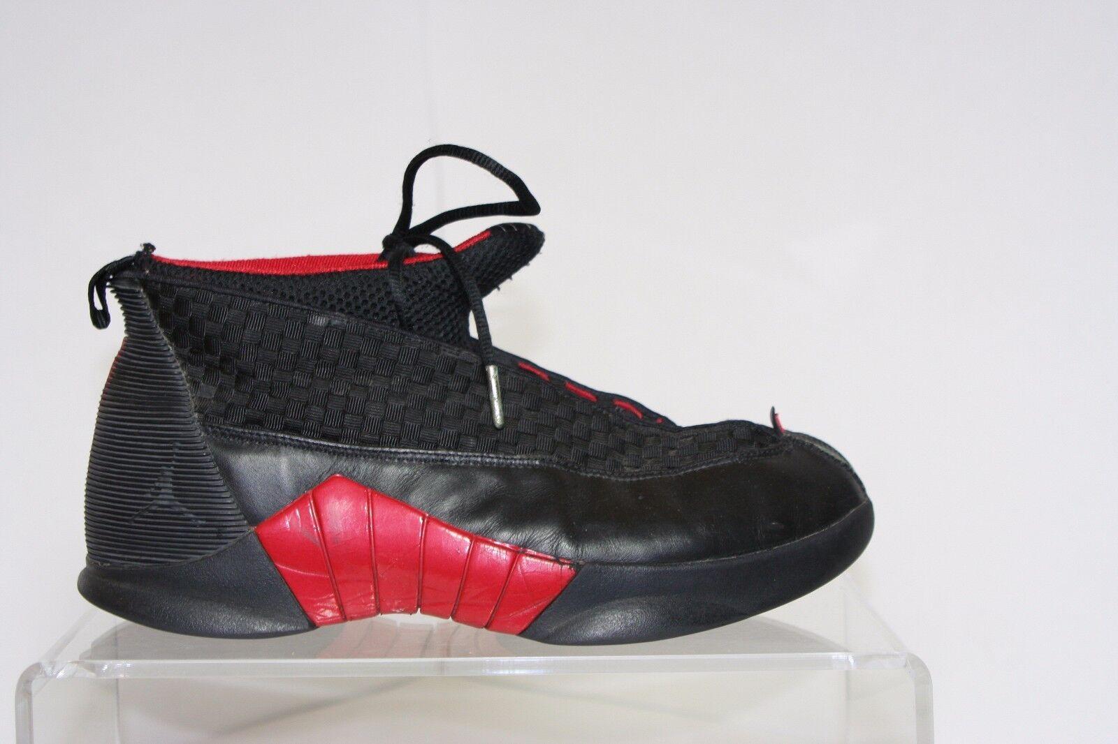 Nike Tenis Jordan 15 Retro bred Tenis Nike Air Athletic Multi de cuero para hombre 8.5 eb1bb9