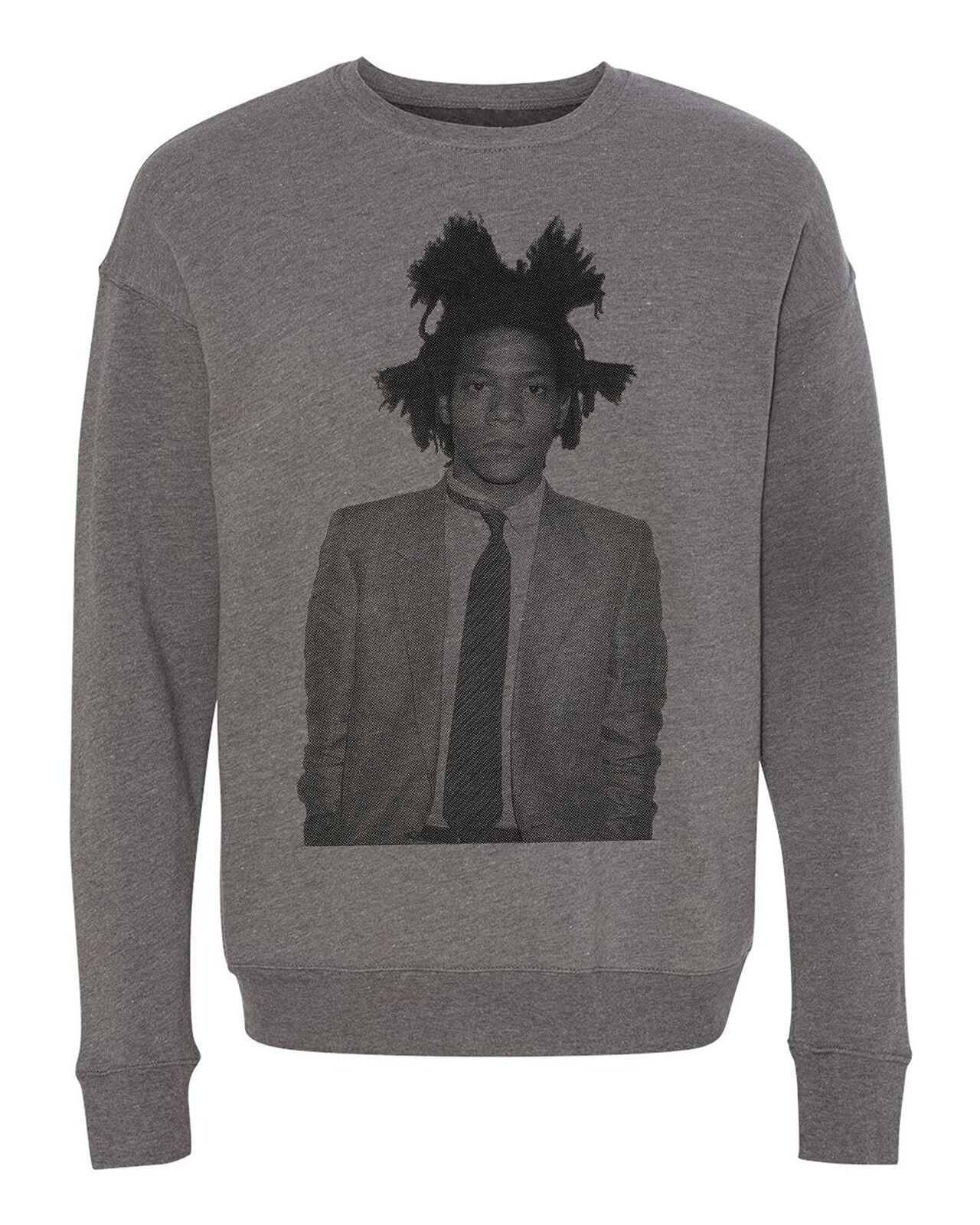 Jean Michel Basquiat Art Graffiti Designer Fashion Unisex Pullover Sweatshirt
