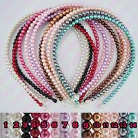Pearl Headband - Beautiful Womens Girls Alice Hair Head Band Accessories - NEW