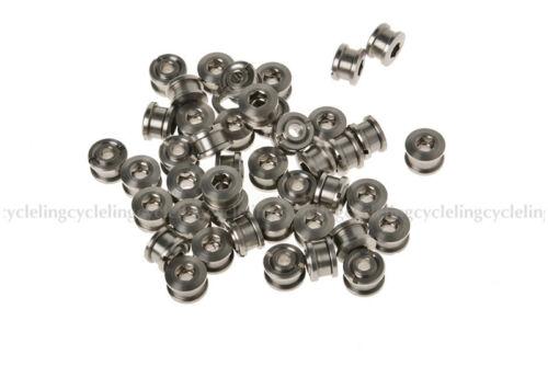 RockBros Titanium Crankset Chainring Bolts Nuts M8 fit Fixed Gear Track 90pairs