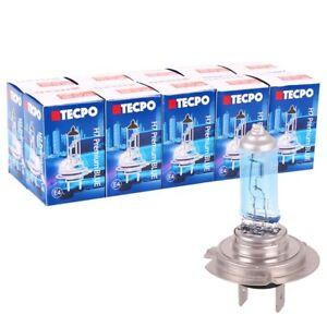 10x h7 birnen blue tecpo halogen auto lampe 12v 55w xenon wei gl hbirnen px26d ebay. Black Bedroom Furniture Sets. Home Design Ideas