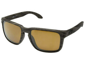 Oakley-Holbrook-XL-Polarized-Sunglasses-OO9417-0659-Woodgrain-Prizm-Tungsten