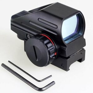 Holographic-Tactical-4-Reflex-Red-Green-Dot-Scope-Sight-Rifle-Picatinny-Rail-AU