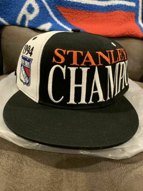 100% genuine delicate colors innovative design NY Rangers 1994 Snapback Hat 25 Anniversary Stanley Cup MSG ...