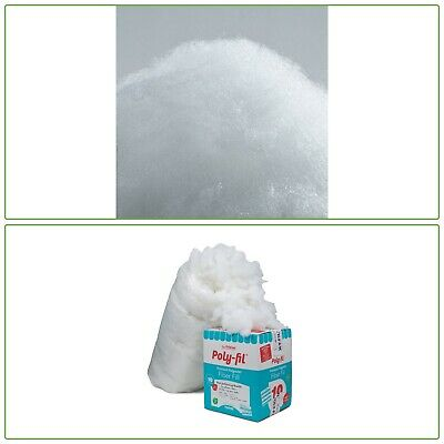 Poly-Fil Premium Polyester Fiber 10-LBS Craft Pillow Toy Stuffing Non Allergenic