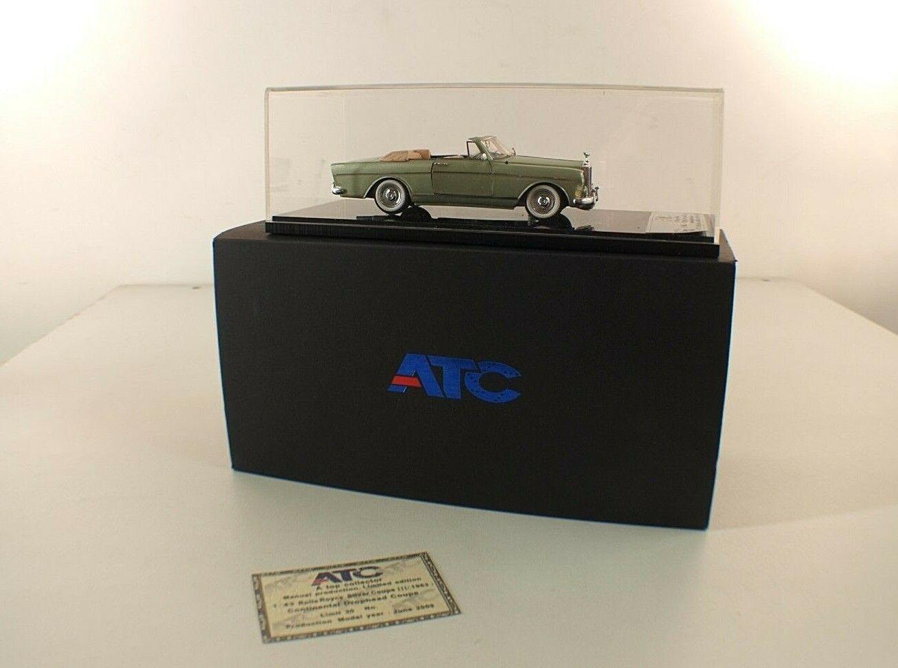 ATC Model  Collectibles - 1964 Rolls Royce Cloud III H.J Mulliner - 1 43