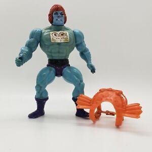 Vintage-1983-MOTU-Faker-Blue-He-Man-Figure-w-Original-Sticker-and-Chest-Armor