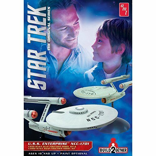 { Amt 913} Aire Fix Tipo Maqueta de Plástico en Kit Estrella Trek Uss Enterprise (2