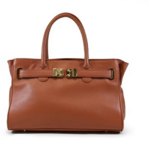 Leather New Aus Madison Cowhide Ehrlich Onna Abendtasche Brown qUwn5Egp