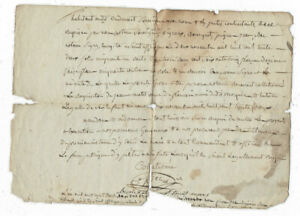 1832-manuscript-document-damaged-nice-oncial-signature