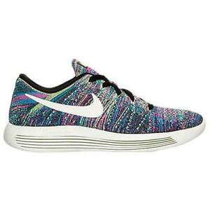 buy popular b98bc a9441 Details about Womens Nike Lunarepic Low Flyknit Multi Running Trainers  843765 002