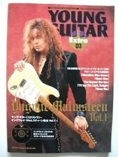 Yngwie Malmsteen YOUNG GUITAR EXTRA 03 MAG JAPAN GUITAR SCORE TAB w/CD TABLATURE