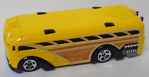 Details About 2001 Hot Wheels First Editions Surfin School Bus 014 Yellow Paint