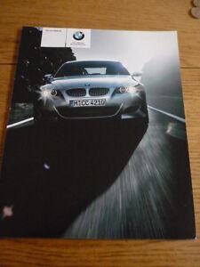 + + Vente + + Bmw M5 Car Brochure 2004/05 Jm-afficher Le Titre D'origine Technologies SophistiquéEs