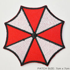 "RESIDENT EVIL ""Umbrella Corporation"" Insignia - Iron-On Prop Movie Patch - 3"""