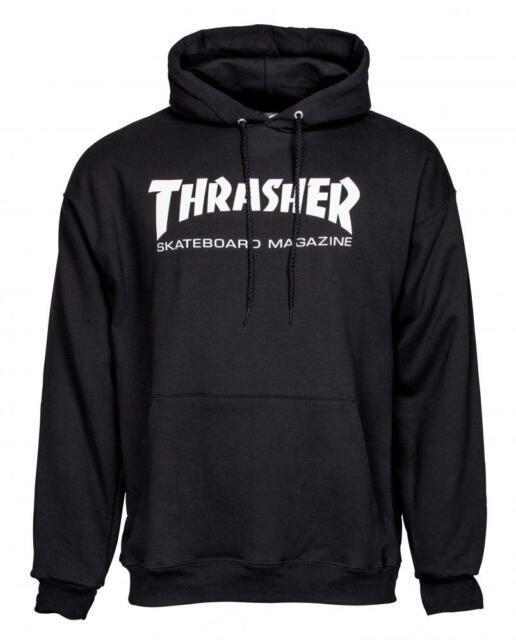 626340e2ba56 Thrasher Skate Mag Hoody Black Official UK Stockist Large for sale ...