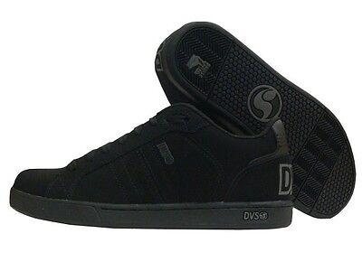 DVS Charge Gr.43 US 9,5   black'd out nubuck Skateschuhe