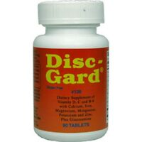 Disc Gard Cartilage, Joints, & Disc Support 90 Tablets, Fast Usa Shipping