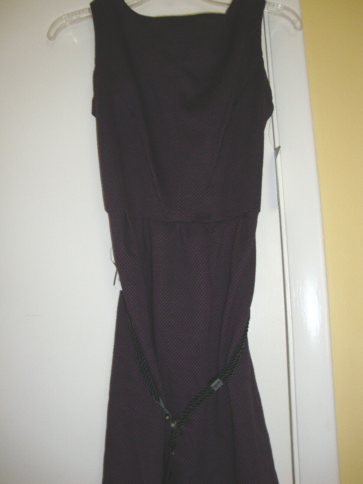 New Womens NY Collection Diamond Cut Dress Size Small