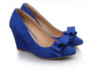 Frau Hochkeil Cm Komfortabel Blau Elegant 8 9224 Schuhe Pumps Décollte uOTZiwkPX