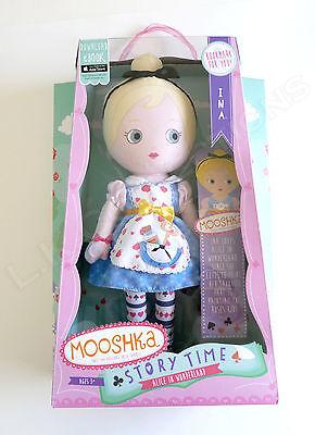 Alice in Wonderland Mooshka Story Time Ina Plush Doll Brand New Zapf Creations