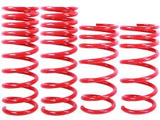 RED Lowering Springs Fit 06-12 Lexus IS250/IS35 Drop Suspension Lower Kit