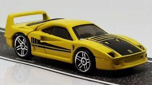 Ferrari F40 > Yellow > Hot Wheels > 2014 > Mint Loose | eBay