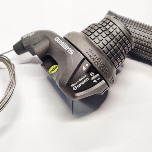 Shimano RevoShift SL-RS25 Twist Grip Shifter 6 Speed Right Black New US