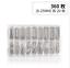 360pcs-Watchmaker-Watch-Band-Spring-Bar-Strap-Link-Pins-Steel-Repair-Kit-Tool-FA miniatura 14