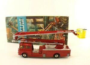 Corgi-Major-n-1127-camion-pompiers-Bedford-Simon-Snorkel-Fire-engine-boite-box