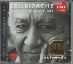 SERGIU-CELIBIDACHE-Beethoven-Symphonies-4-amp-5-CD-EMI-NEU-amp-OVP-NEW-Sealed