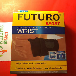 Futuro Sport Adjustable Wrist Support 522300 ONE SIZE NIB (D)