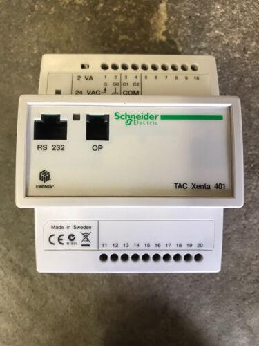 Schneider Electric TAC Xenta® 401 Frei programmierbarer Regler
