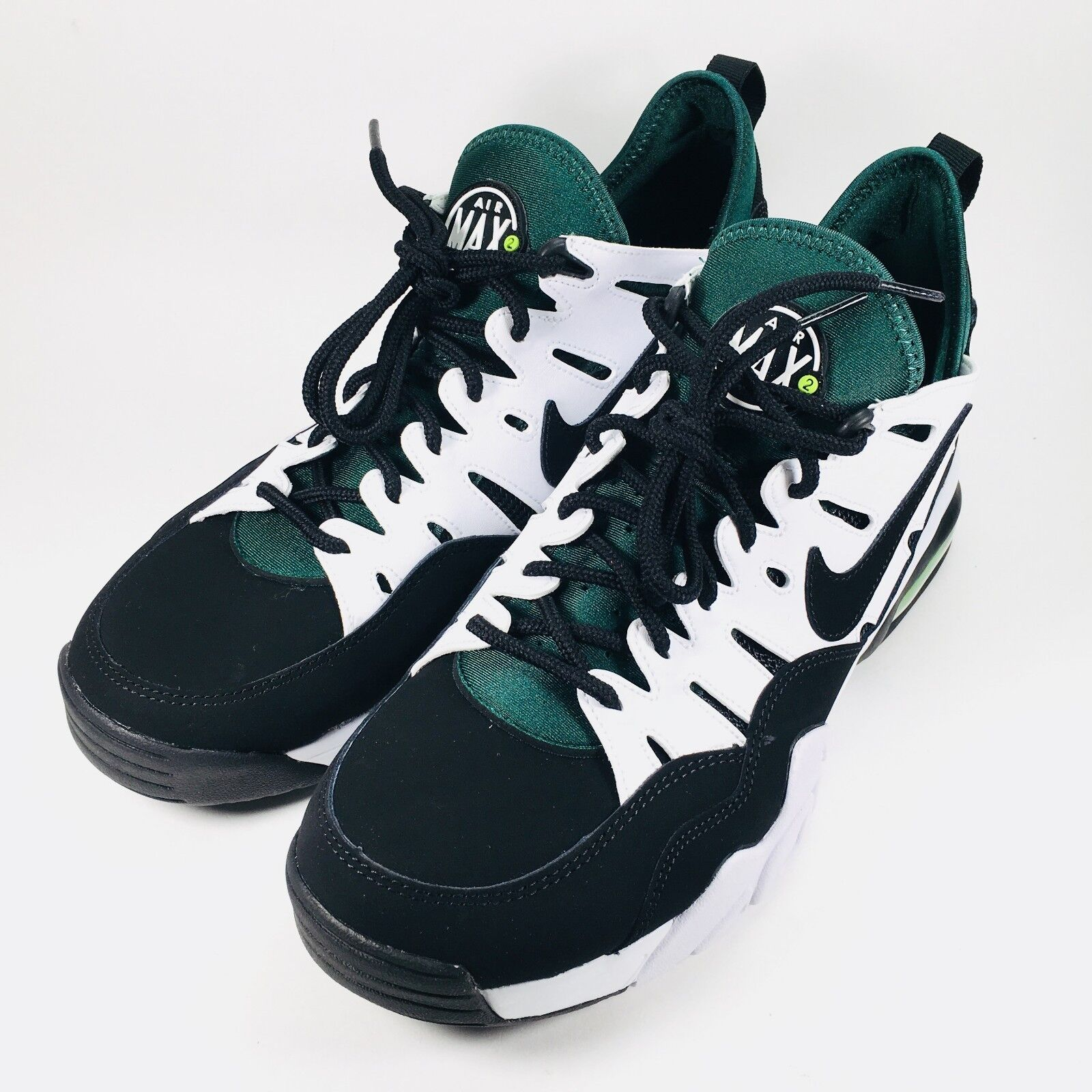best service 52040 1a2d8 ... hot nike 10 air trainer max 94 low s size 10 nike black green white dark