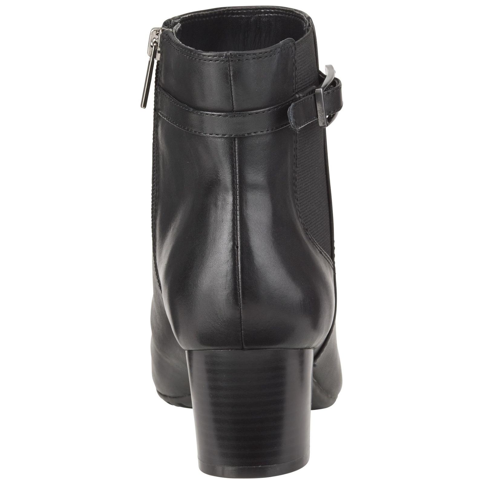 Women's Bandolino Lethia Bootie Black Size 7.5 #NKVI3-834