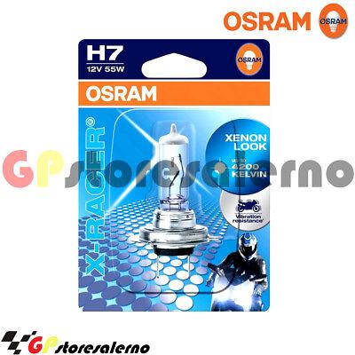 Focoso 404205020 Lampada Alogena X-racer Xenon Look H7 12v 55w Osram Mahindra