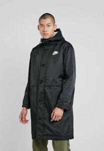 Nike-Doudoune-Down-Bubble-Padded-Jacket-Noir-parka-Sportswear-Lifestyle