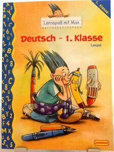 Allemand 1. classe + LERNSPAß avec MAX + langue exercent + des leçons + INFLUENTS/62