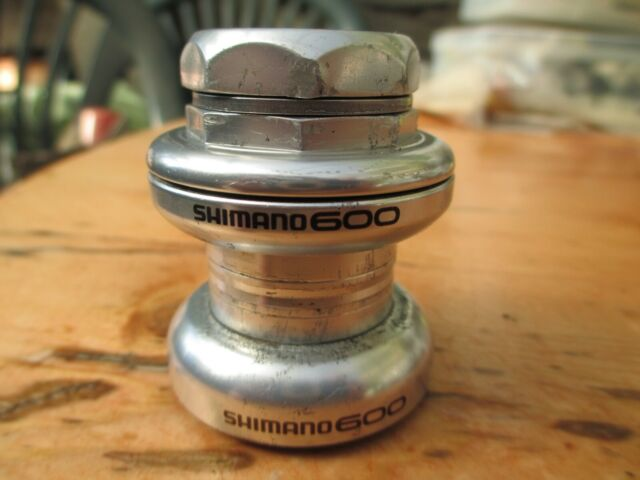 "NOS Shimano 600 Ultegra 1/"" Headset HP 6400 French Threaded Bike Component *RARE"