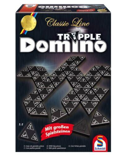 Schmidt 49287 CLASSIC LINE TRIPPLE DOMINO NEU