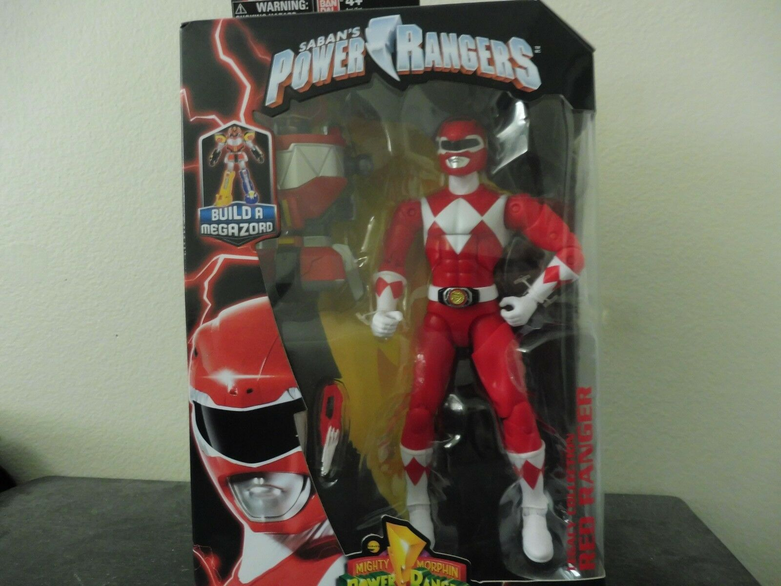 Power Rangers Legacy Collection ROT Ranger Action Figure USA Shipping only