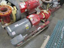 Bell Amp Gossett 1510 Pump 3ac 6750 Bf 40hp 640gpm 150ft Head 3600rpm 175psi Used