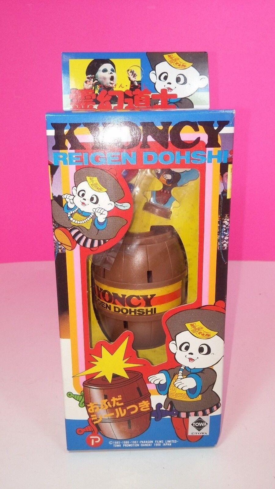 Japan 1988 Kyoncy Reigen Doshi Plastic Action Figure Game Set Set Set ST Barrel Game 06e19a