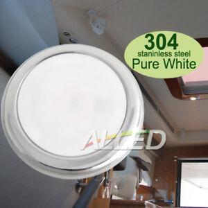 12V-Pure-White-Daylight-LED-Cabin-Down-Light-RV-Boat-Marine-Caravan-Ceiling-Lamp