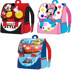 a6b7d2db129cd Das Bild wird geladen Disney-Minnie-Mickey-Mouse-Cars-Schulranzen-Schul- Ranzen-