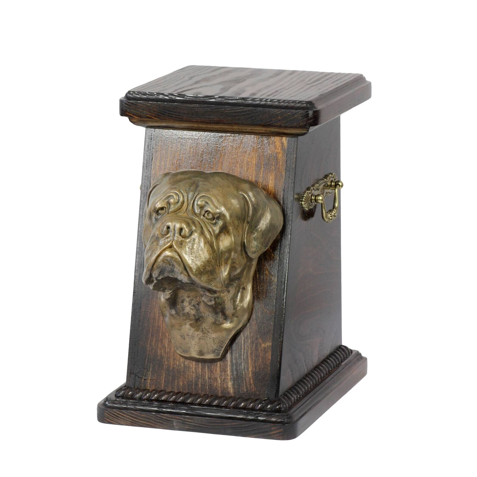 Dog de Bordeaux type 2  exclusive urn for dog with statue, Art Dog type 2