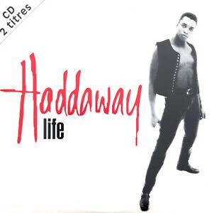 Haddaway-CD-Single-Life-France-EX-M